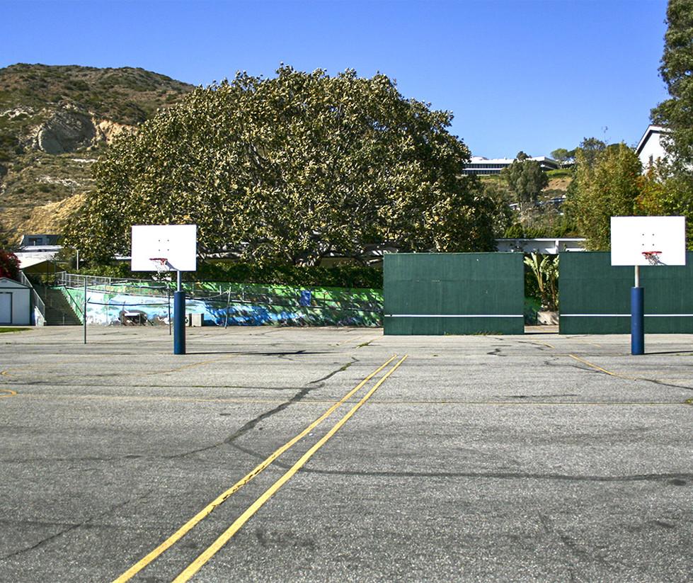 Webster Elementary School Outdoor Basketball Court