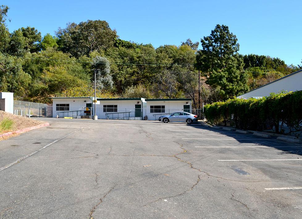 Webster Staff Parking Lot