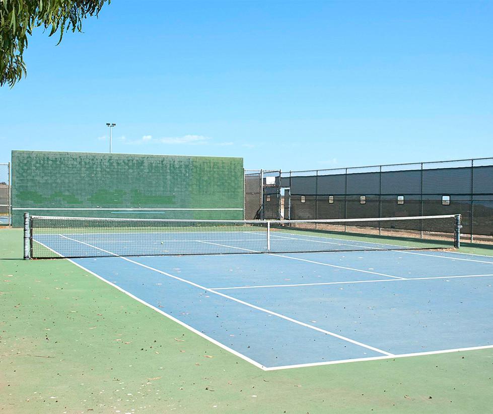 Malibu High School Tennis Courts