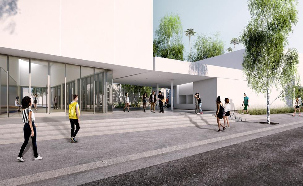 John Adams MS Performing Arts Center - coming Spring 2021
