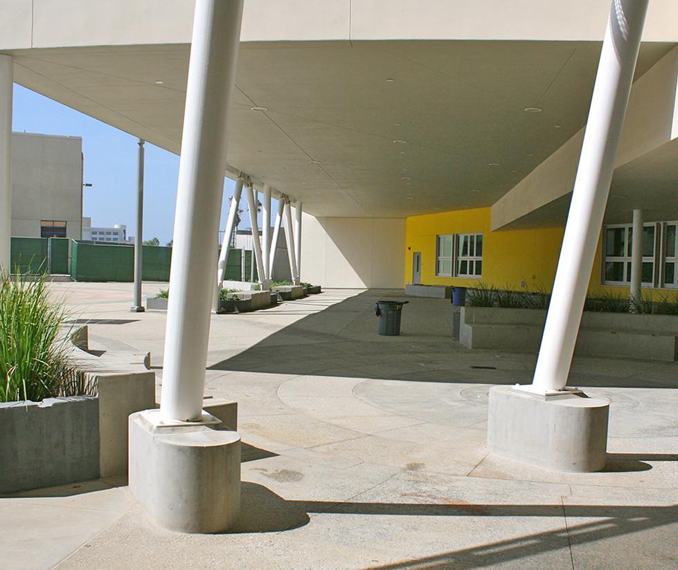Santa Monica High School Centennial Quad (Detail)