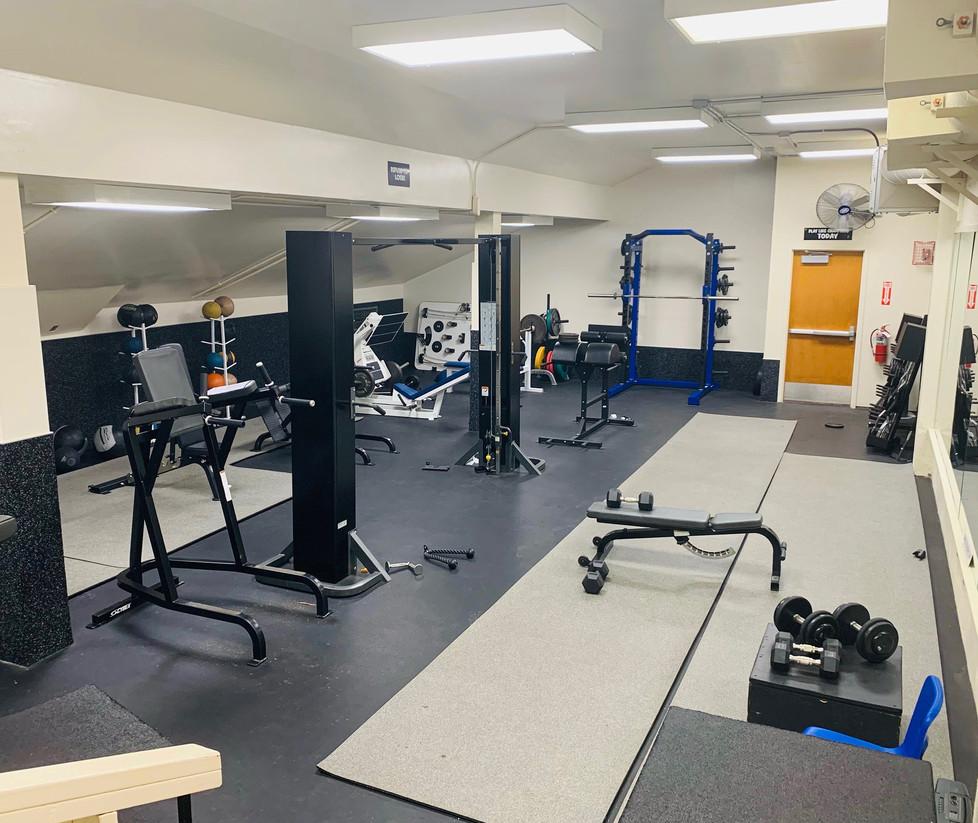 Santa Monica High School Basketball Weight Room