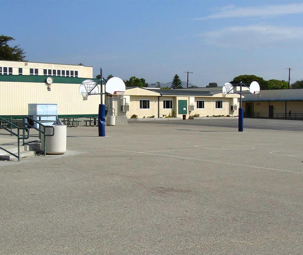 Franklin Elementary School Blacktop & Basketball Court