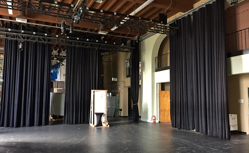 SMHS Humanities Center Black Box Theater