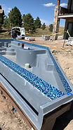 Tile Install Swimming Pool Parker