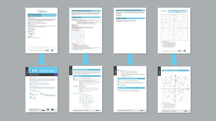 Teaching resource redesign
