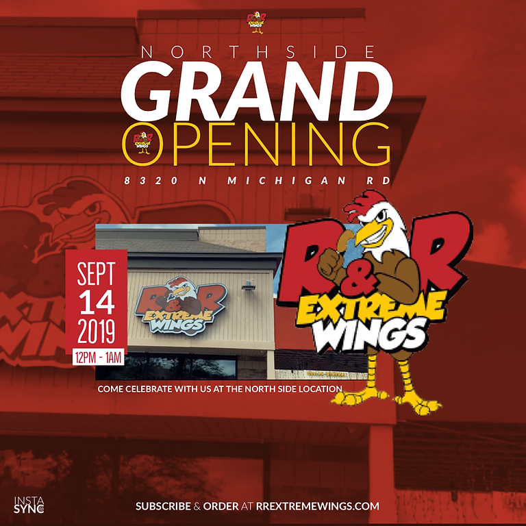 R&R Extreme Wings Northside Grand Opening
