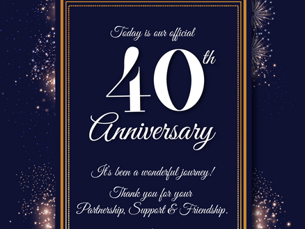 Abbey's 40th Anniversary