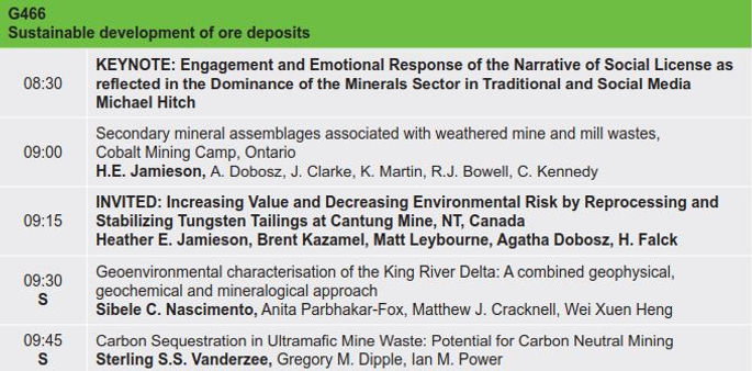 13. Sustainable development of ore depos