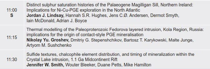 2. Magmatic sulfide and oxide systems. F