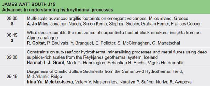 8. Advances in understanding hydroytherm