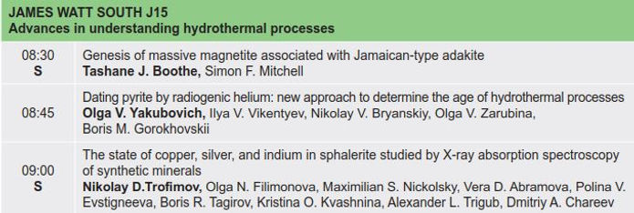 8. Advances in understanding hydrotherma