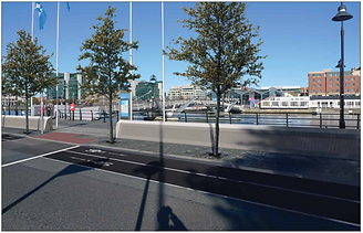 Cycle way and wall impression.png