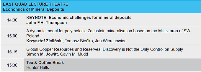 4. Economics of Mineral deposits Tuesday