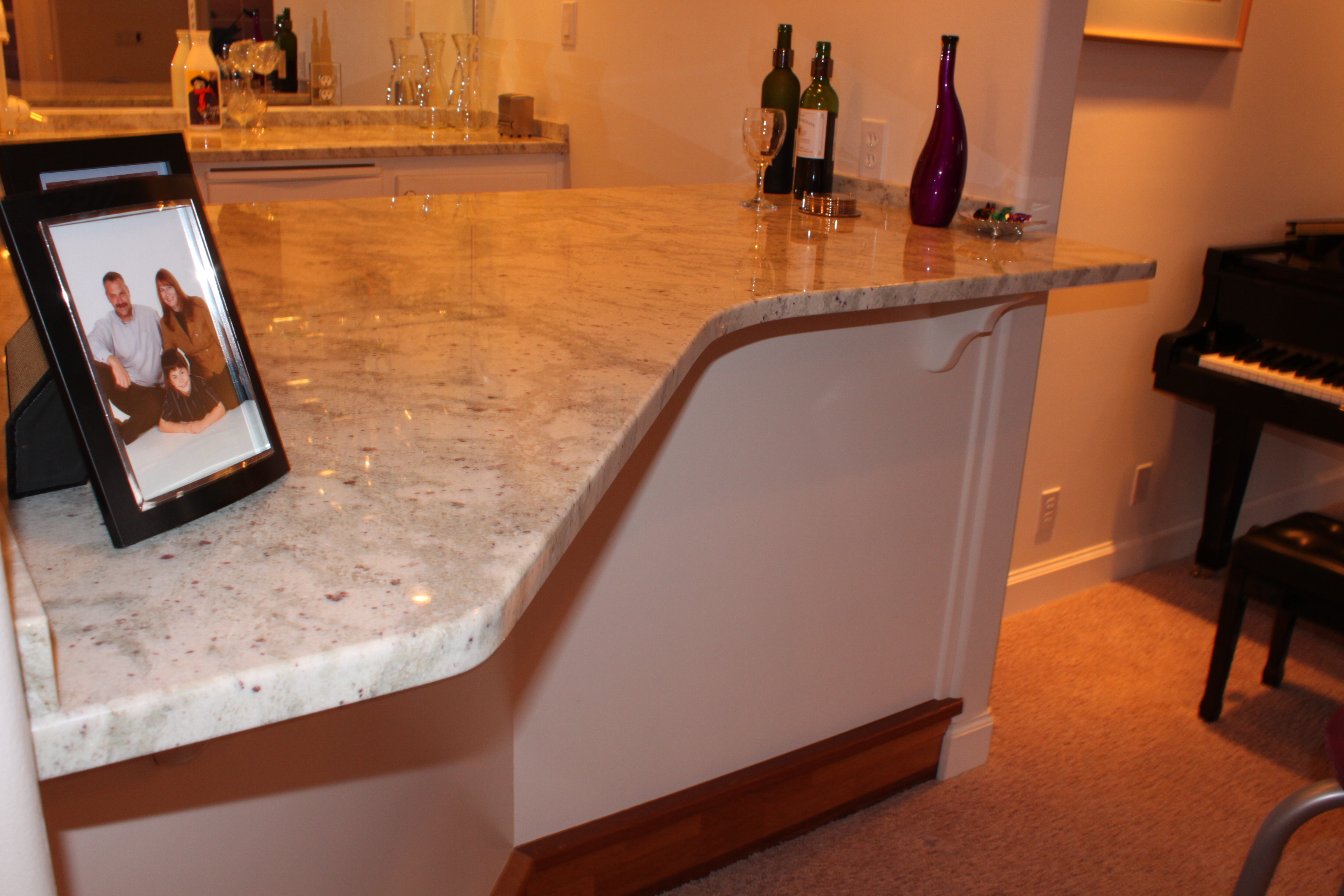 Custom Granite Bar