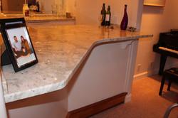 Custom Granite Bar