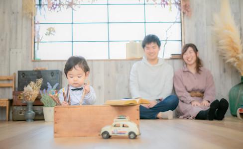 大阪市・堺市で安心料金のキッズフォトスタジオ 写真スタジオのアオフォト