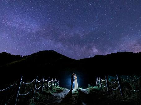 結婚式のテーマは星*スターウェディング*