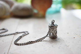 Uncaged Oil Diffuser Locket Stainless St