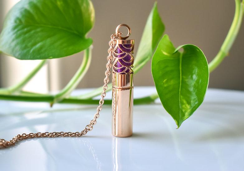 mermaid tail cylinder diffuser pendant perfume