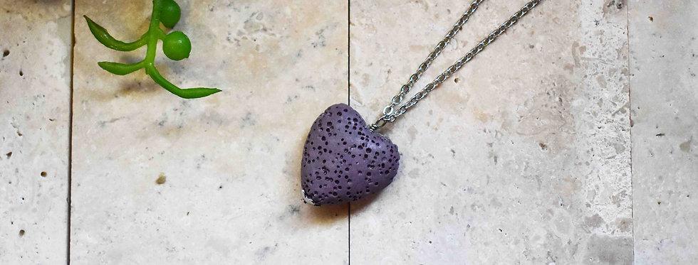 I Heart You - Lava Diffuser Necklace