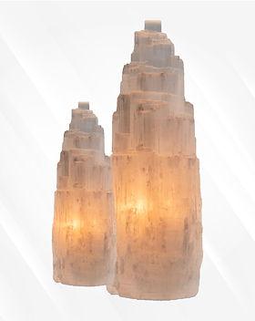 selenite lamps 15-20cms gypsum queenslan