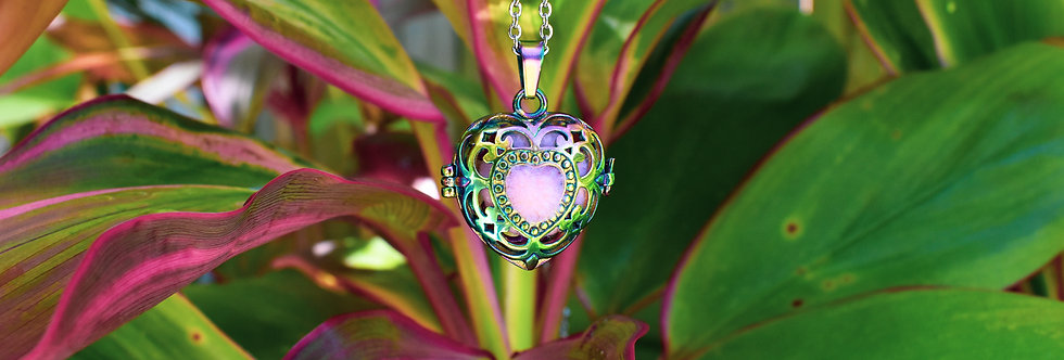 Heart of Gold - Aromatherapy Diffuser Set
