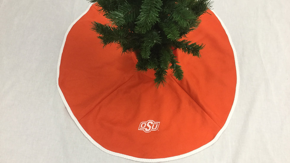 OSU Oklahoma State University - Mini Tree Skirt (Crafter's License #2021067)