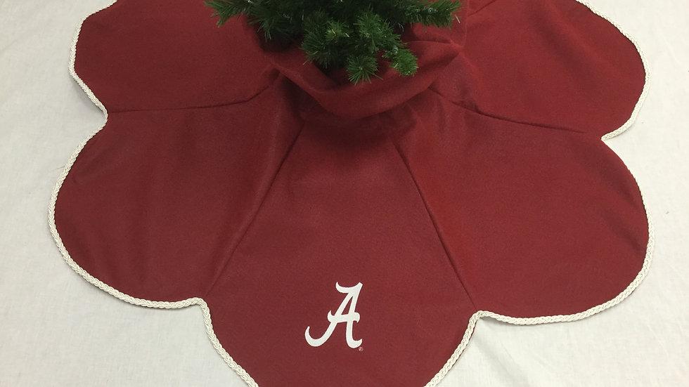 Alabama-University of Alabama Tree Skirt (Crafter's License #236)