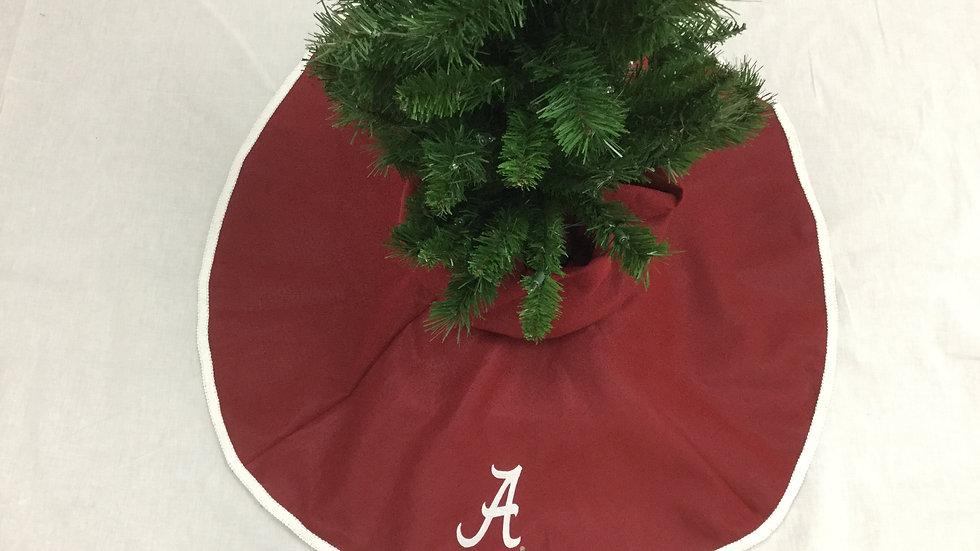 Alabama-University of Alabama Tree Skirt Mini (Crafter's License #236)