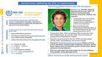 15th Annual UNAEB Global Citizens Awards