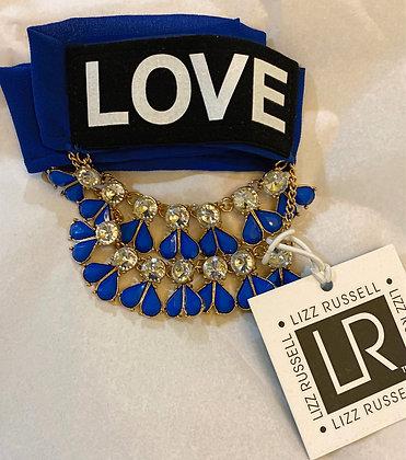 Blue Love Necklace