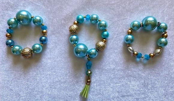 Donna Loraine Pearl Collection Bracelets (3)