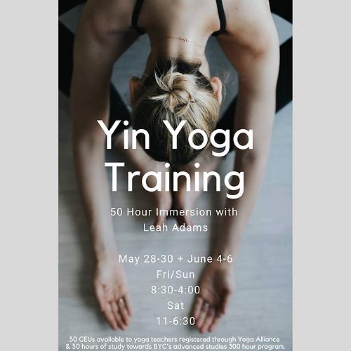 Copy of Yin Yoga Training + Scholarship