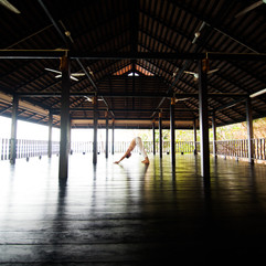 Outdoor Yoga Studio