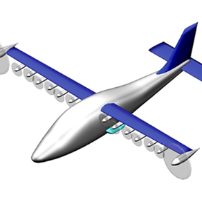 Χρήση ηλεκτρικής κατανεμημένης πρόωσης για την μείωση του περιβαλλοντικού στίγματος των αεροπλάνων