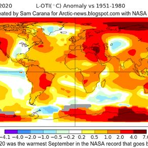 Οι υψηλές θερμοκρασίες του Σεπτεμβρίου