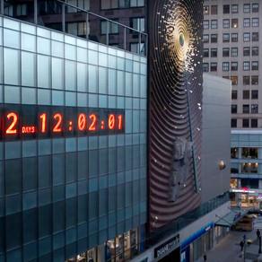Νέα Υόρκη: Ένα ρολόι για την κλιματική αλλαγή μετρά αντίστροφα