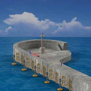 Ένα πρωτότυπο έργο κυματικής ενέργειας στο λιμάνι του Ηρακλείου Κρήτης