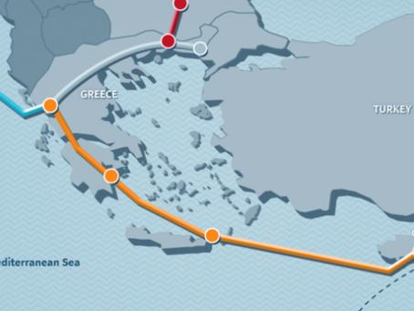 Με ελληνική πρωτοβουλία η κοινή επιστολή οκτώ κρατών υπέρ του αγωγού East Med