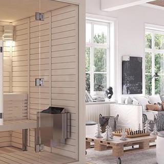 slider modular sauna imalat tasarım