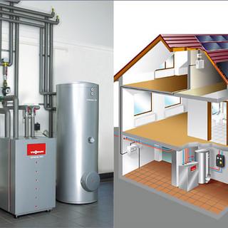 Abb.-Haus_solar_waermepumpe-viessmann