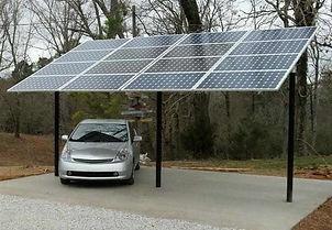 solar-araç-garajı-parking-car-elektrik-e