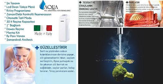 Aqua Su Yumuşatma Sistemi Elit Big Seri.