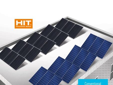 Panasonic hit Dünyanın En verimli Hit 325 Wp Güneş Paneli