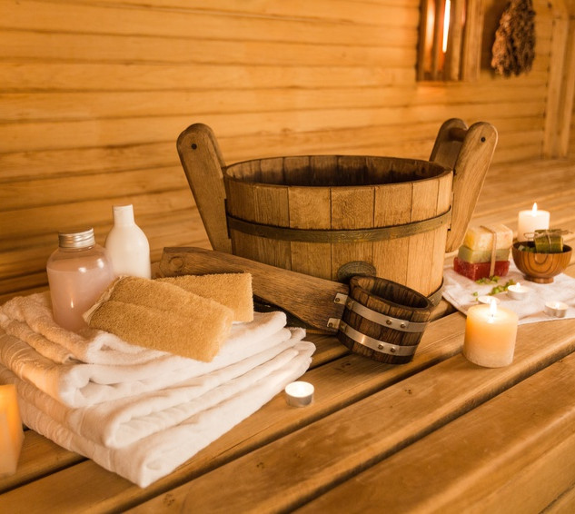 Bodrum sauna-kepçe-kova