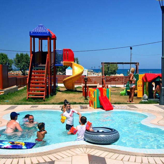 havuz ısıtma çocuk havuzu bodrum