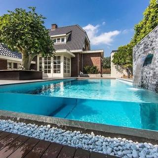 Bodrum cam havuz imalat tasarım muğla havuzculuk