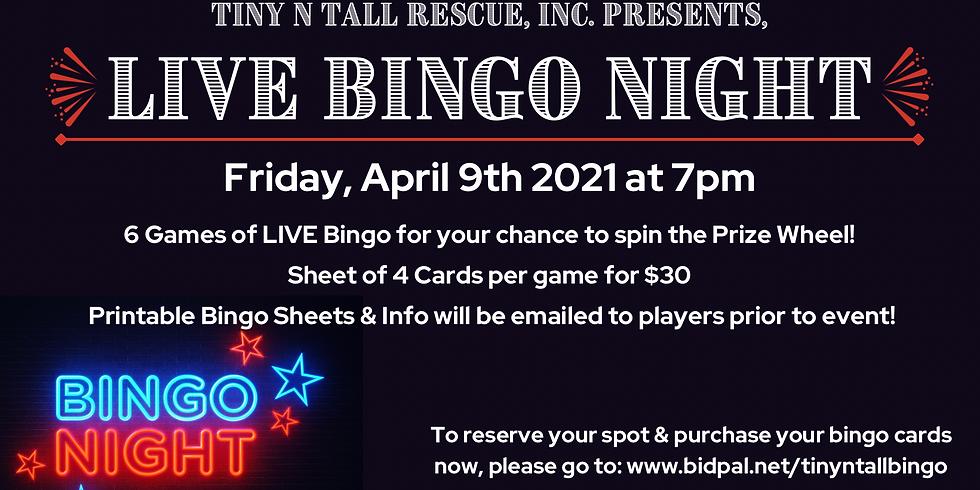 LIVE Bingo night with TNT!
