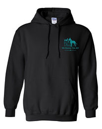 Black Rescue Love Repeat Hoodie